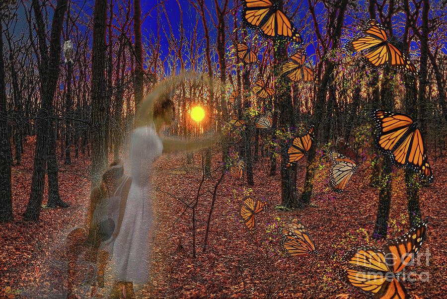Ballerinas and Butterflies by Jeff Breiman