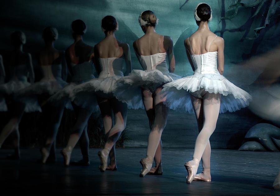 Ballerinas Photograph by Tunart