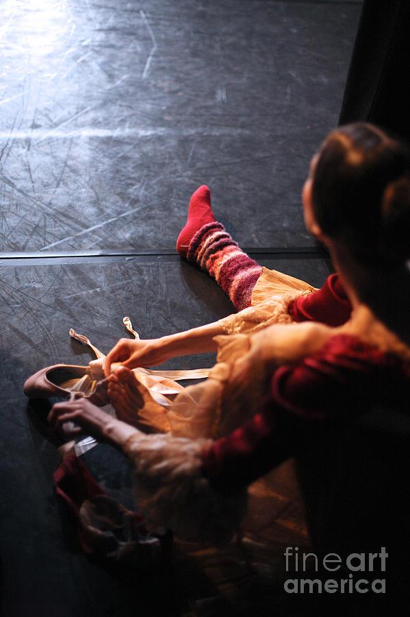 Studio Photograph - Ballet Behind The Scenes by Anna Jurkovska