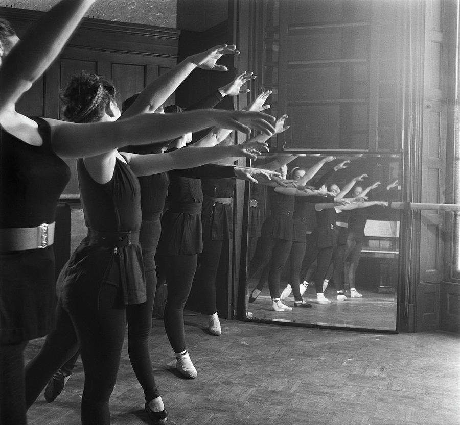 Ballet Class Photograph by Chris Ware