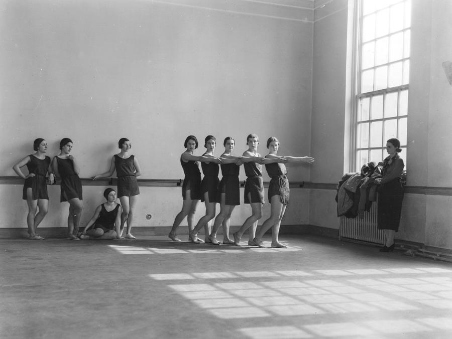 Ballet Class Photograph by Sasha