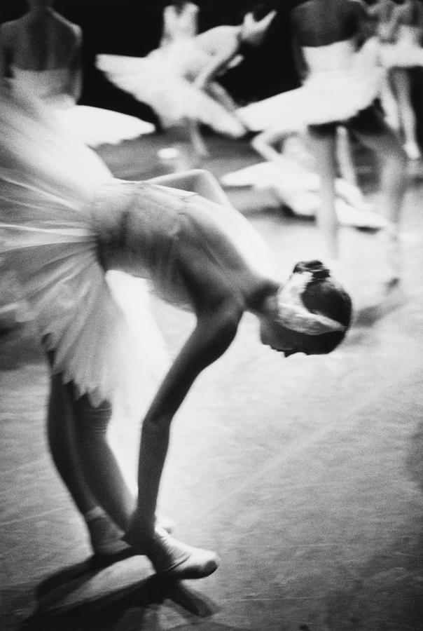 Ballet Dancer Preparing To Dance In Photograph by Lisa Blalock