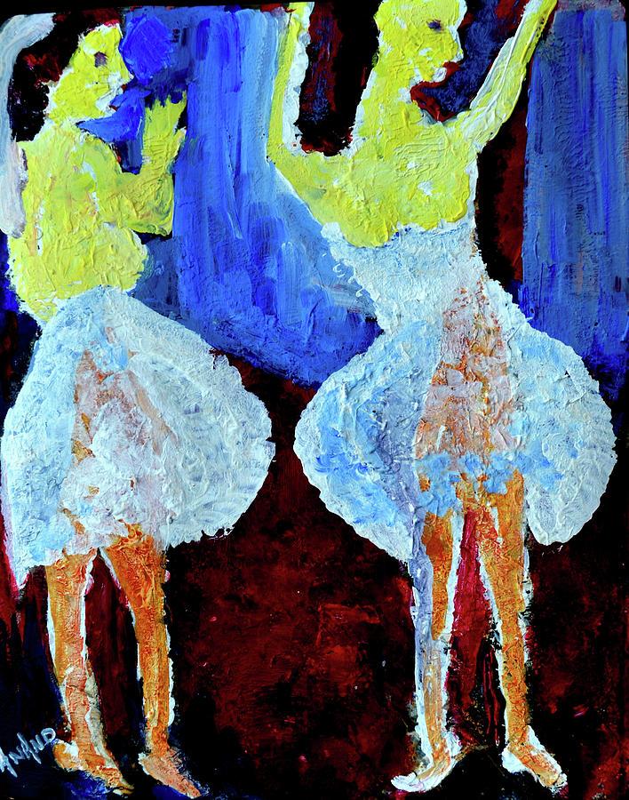 BALLET DANCERS-1 by Anand Swaroop Manchiraju