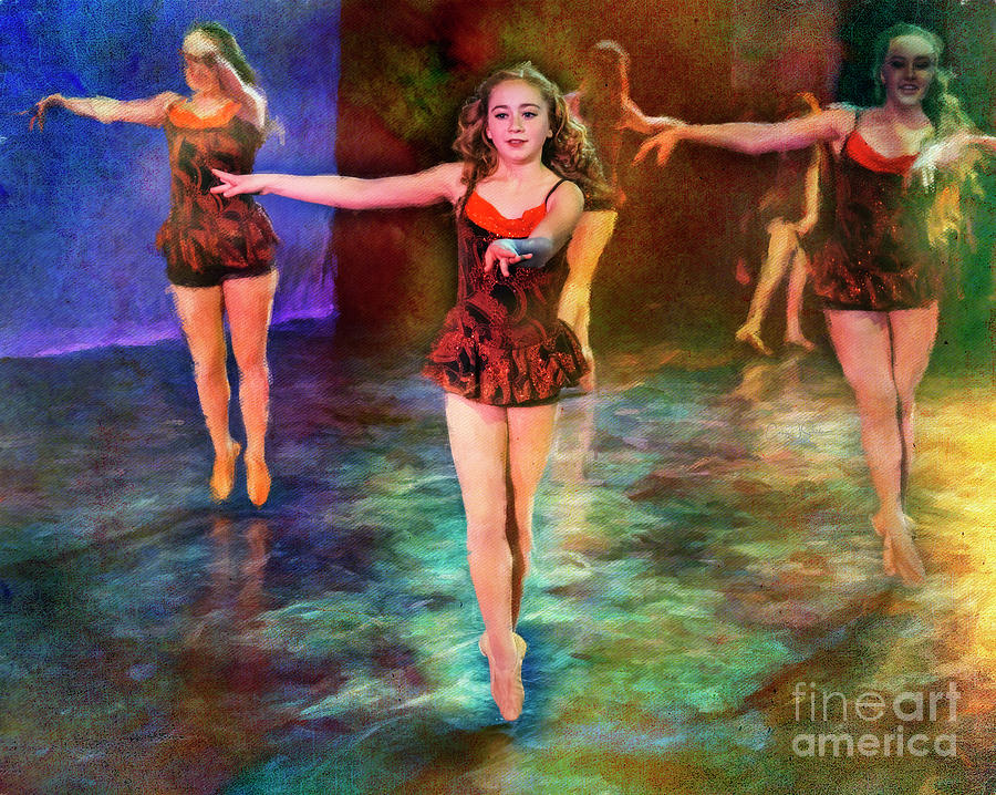 Ballet Rehearsal by Craig J Satterlee