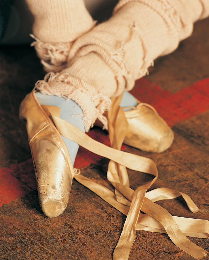 Ballet Slippers Photograph by Photodisc