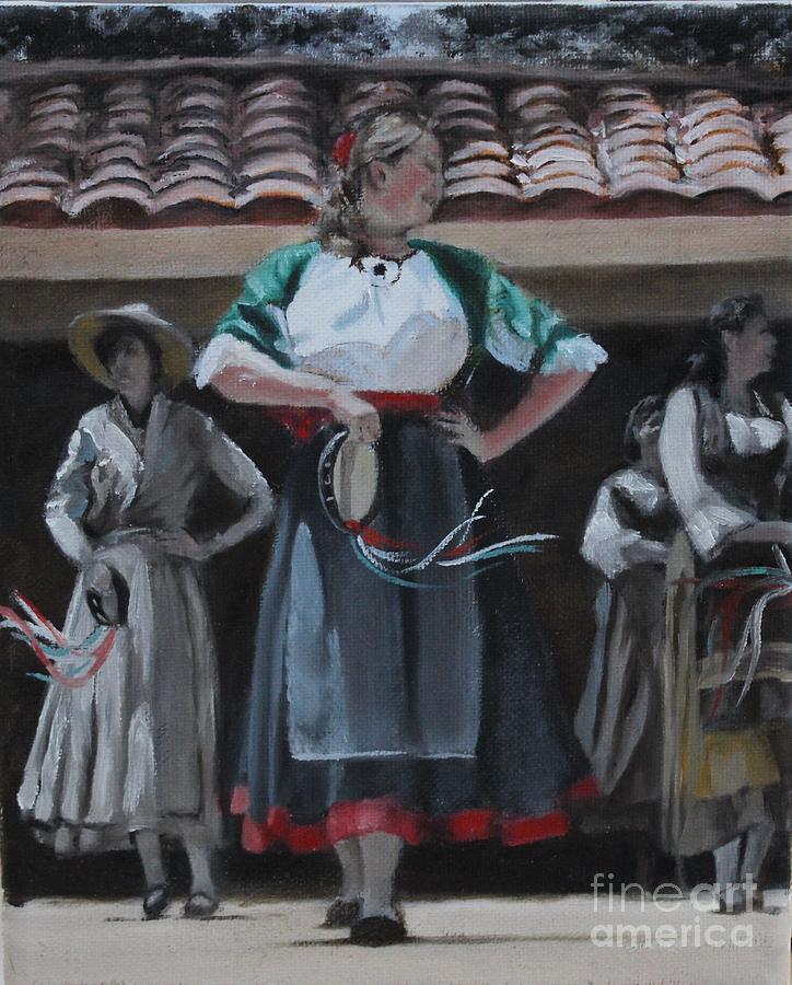 Balliamo Italian folk dancers by D A Brown