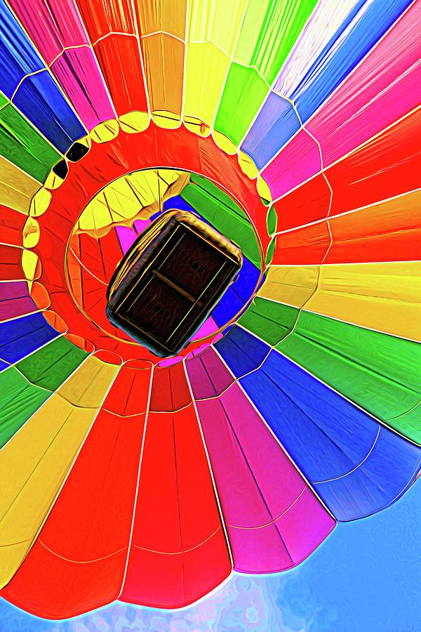 Balloon Colors Rising by Alice Gipson