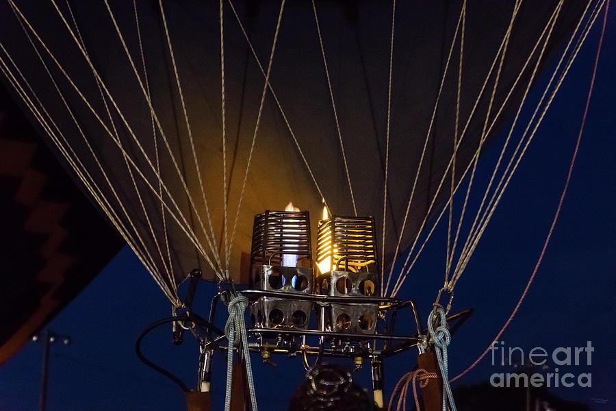 Balloon Double Burner by Jennifer White