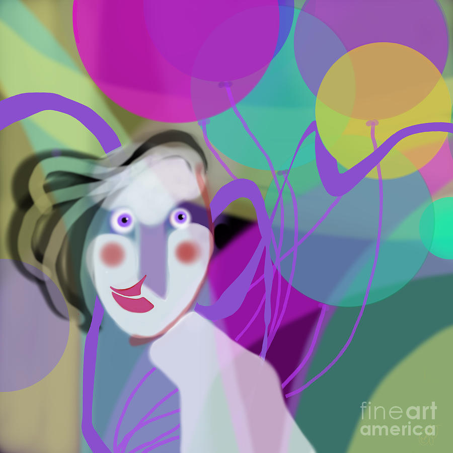 Balloon Girl by Carol Jacobs