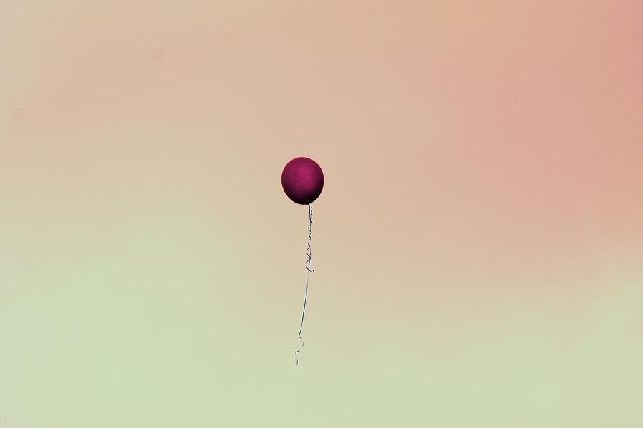 Balloon in The Sky by The Art Of Marilyn Ridoutt-Greene