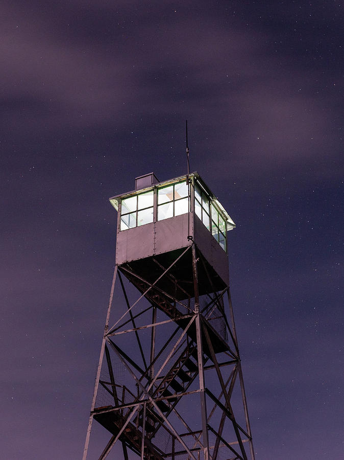 Balsam Lake Mountain Firetower  by Brad Wenskoski