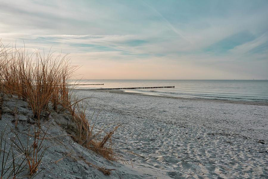 baltic natural beach 2 by Joachim G Pinkawa