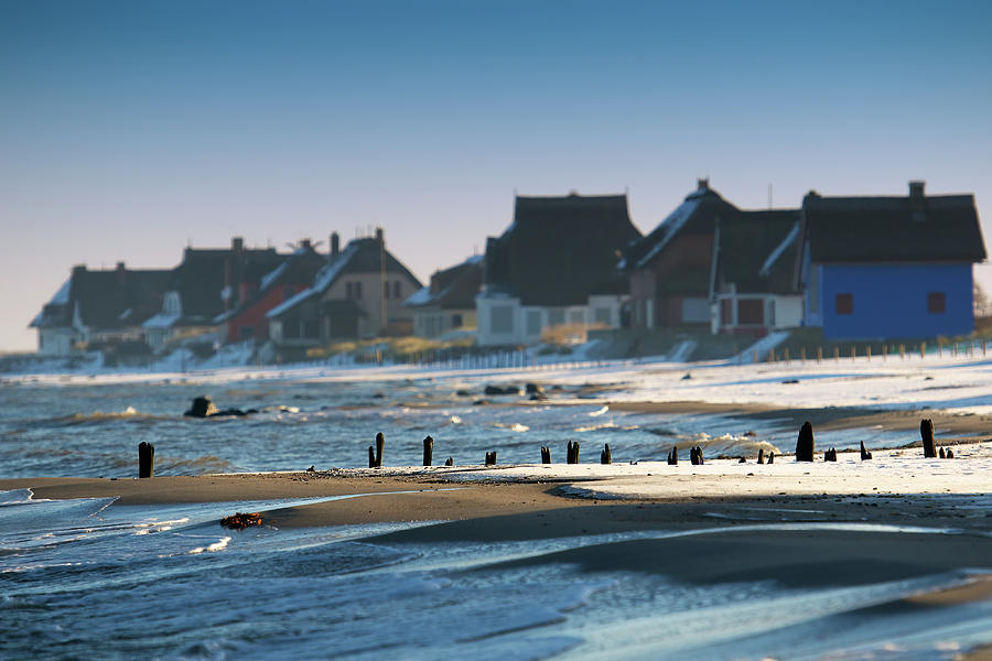 Baltic Winter Photograph by Siegfried Haasch