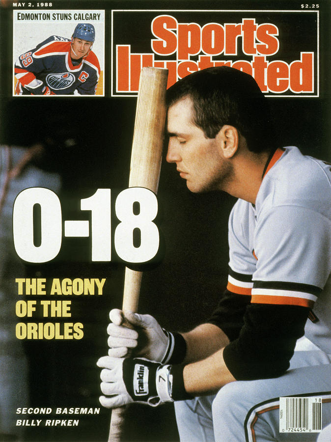 Baltimore Orioles Billy Ripken... Sports Illustrated Cover Photograph by Sports Illustrated