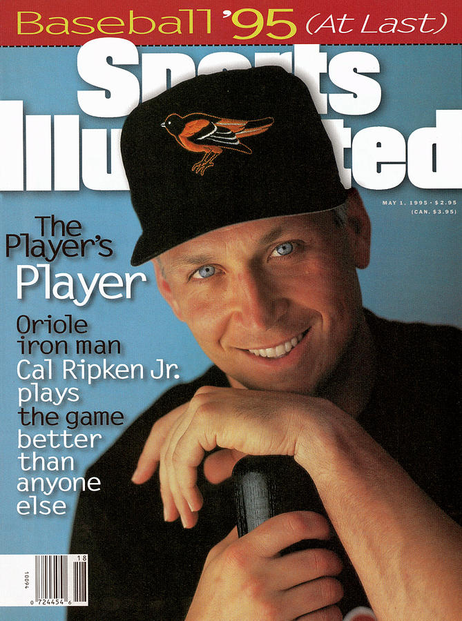 Baltimore Orioles Cal Ripken Jr, 1995 Mlb Baseball Preview Sports Illustrated Cover Photograph by Sports Illustrated