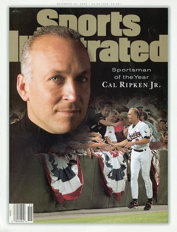 Baltimore Orioles Cal Ripken Jr, 1995 Sportsman Of The Year Sports Illustrated Cover Photograph by Sports Illustrated