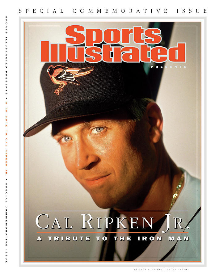 Baltimore Orioles Cal Ripken Jr, Mlb Retirement Sports Illustrated Cover Photograph by Sports Illustrated