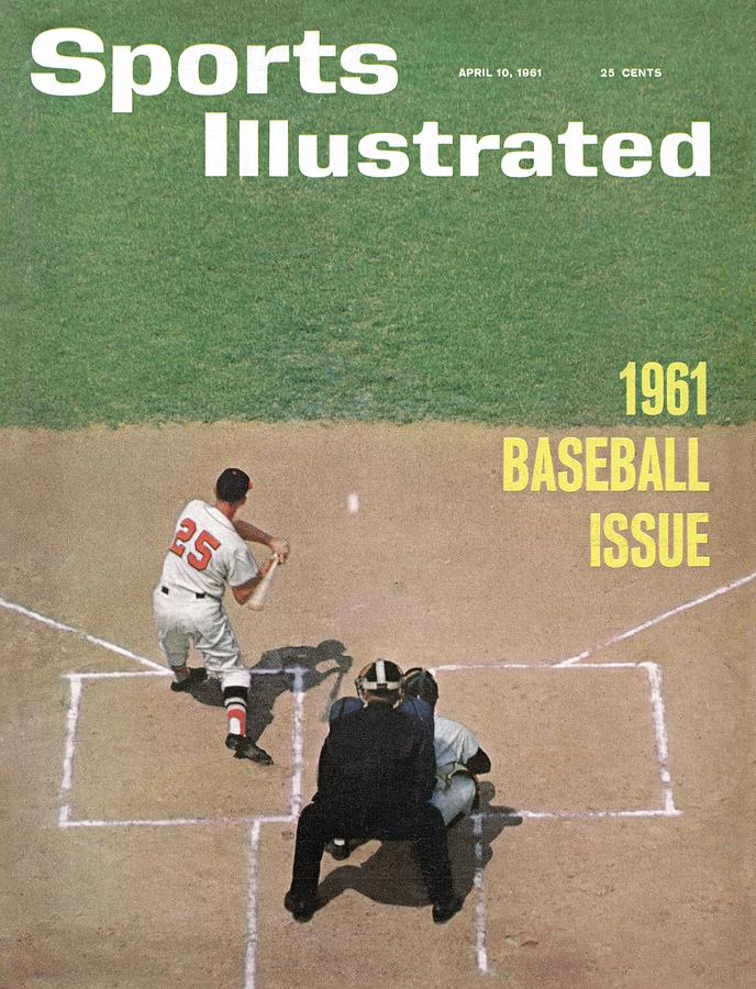 Baltimore Orioles Jackie Brandt Sports Illustrated Cover Photograph by Sports Illustrated