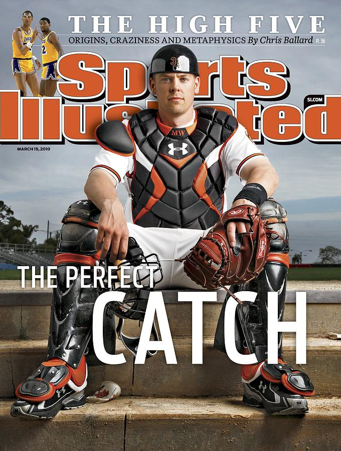 Baltimore Orioles Matt Wieters Sports Illustrated Cover Photograph by Sports Illustrated