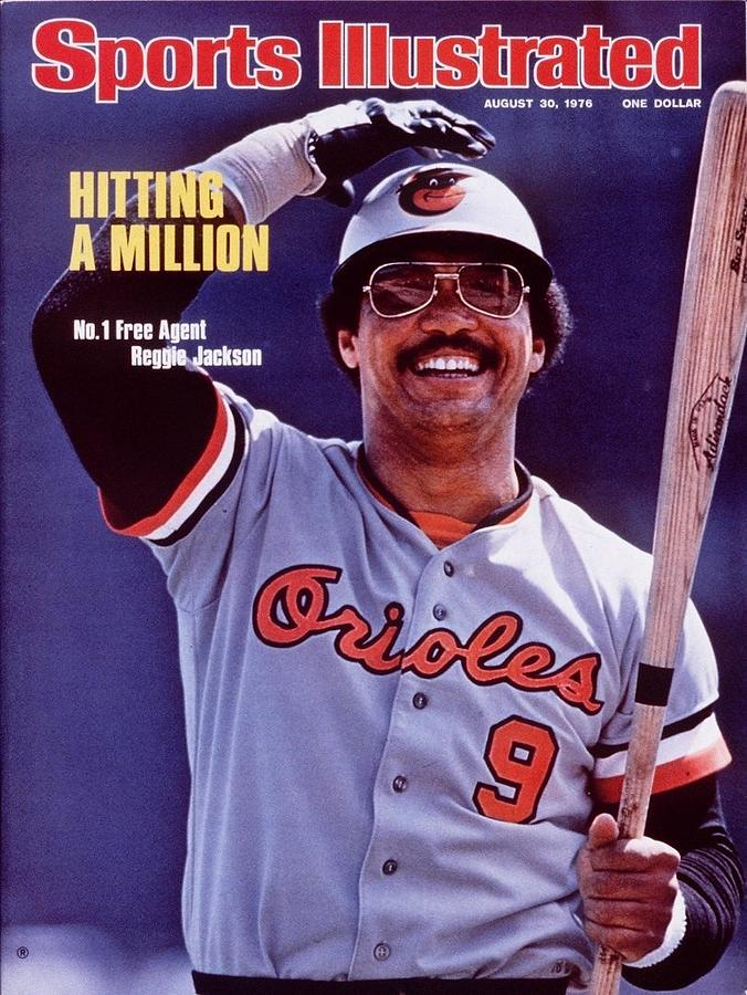 Baltimore Orioles Reggie Jackson Sports Illustrated Cover Photograph by Sports Illustrated