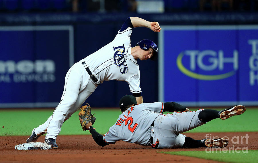 Baltimore Orioles V Tampa Bay Rays Photograph by Mike Ehrmann