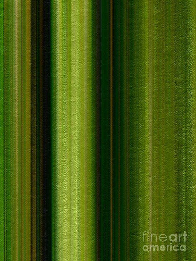 Bamboo Forest Stripes by Rachel Hannah