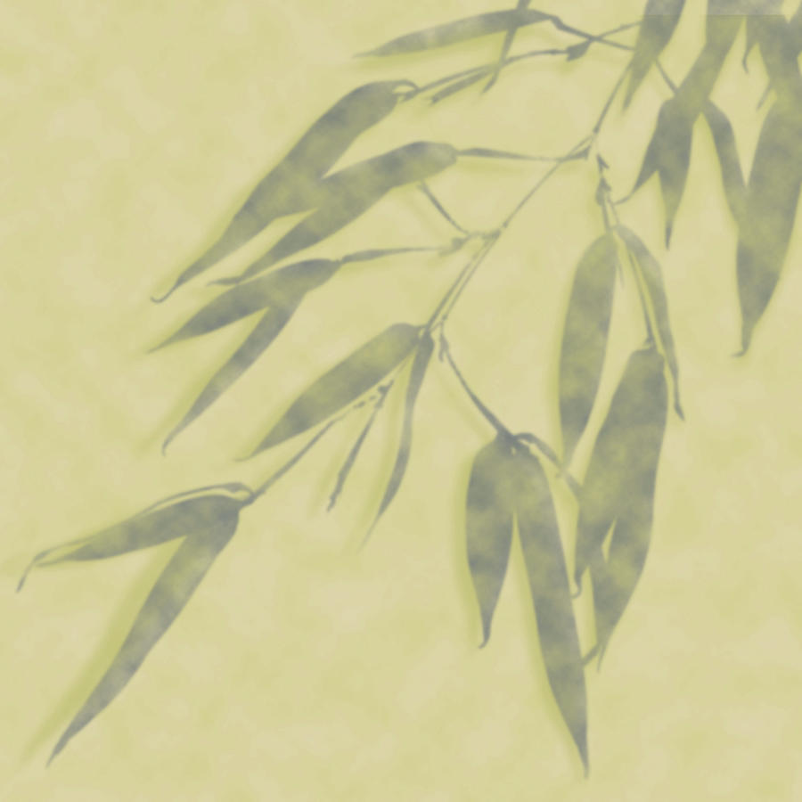 Bamboo Leaves 0580b by Mark Shoolery