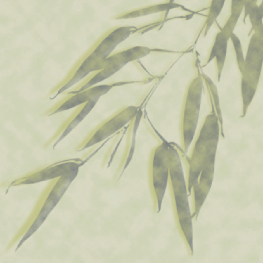 Bamboo Leaves 0580c by Mark Shoolery