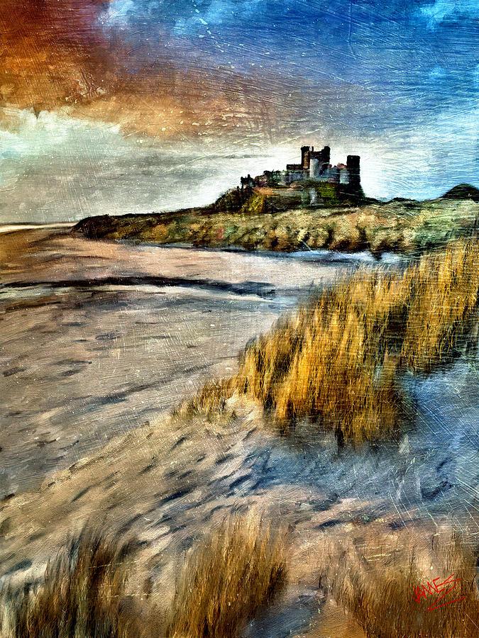 Bamburgh Castle by James Shepherd