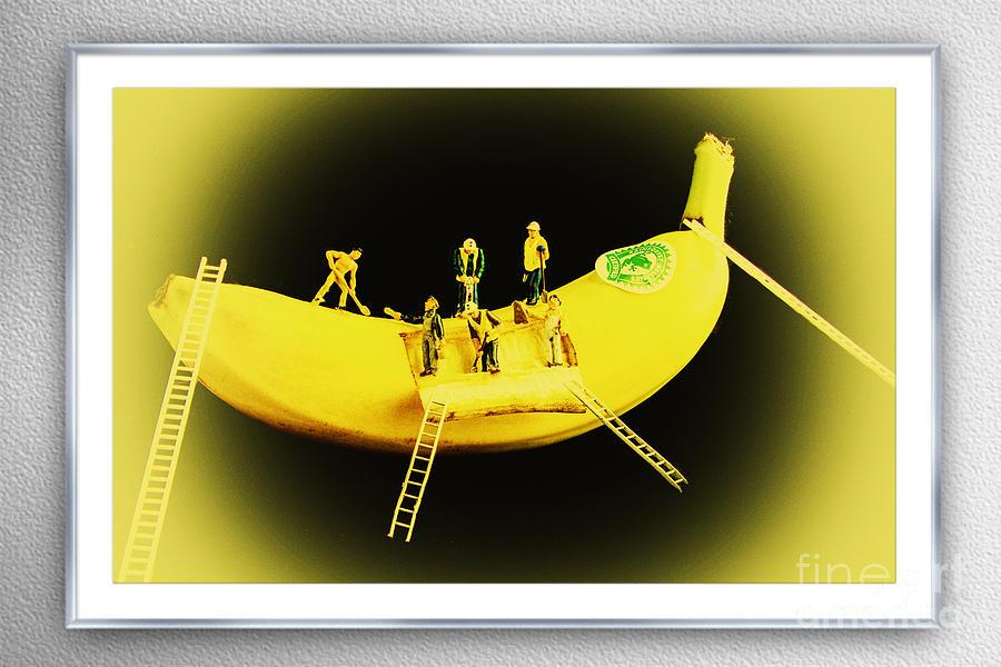 Banana Boat Mining Company Silver Frame Photograph
