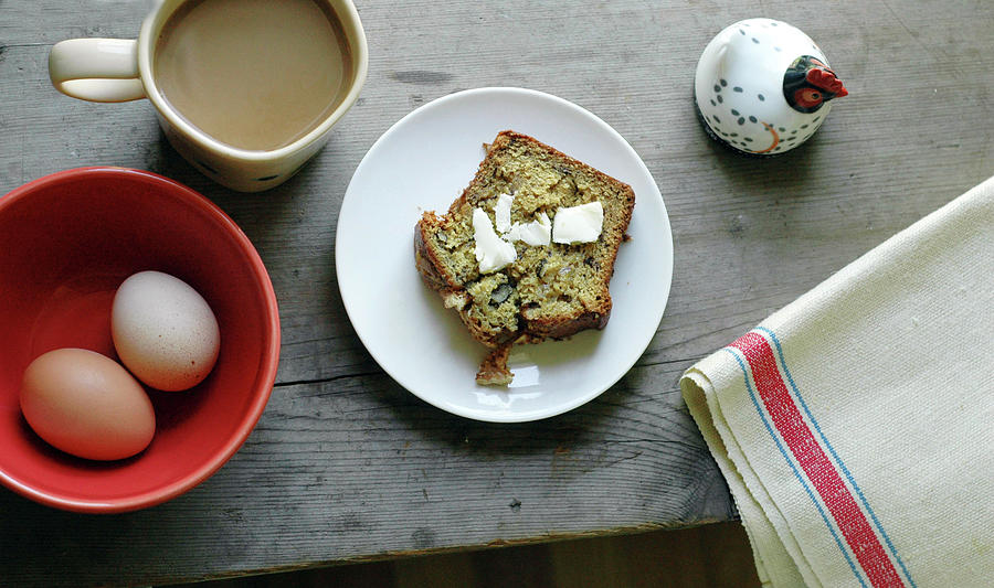 Banana Bread For Breakfast Photograph by Jennifer Causey