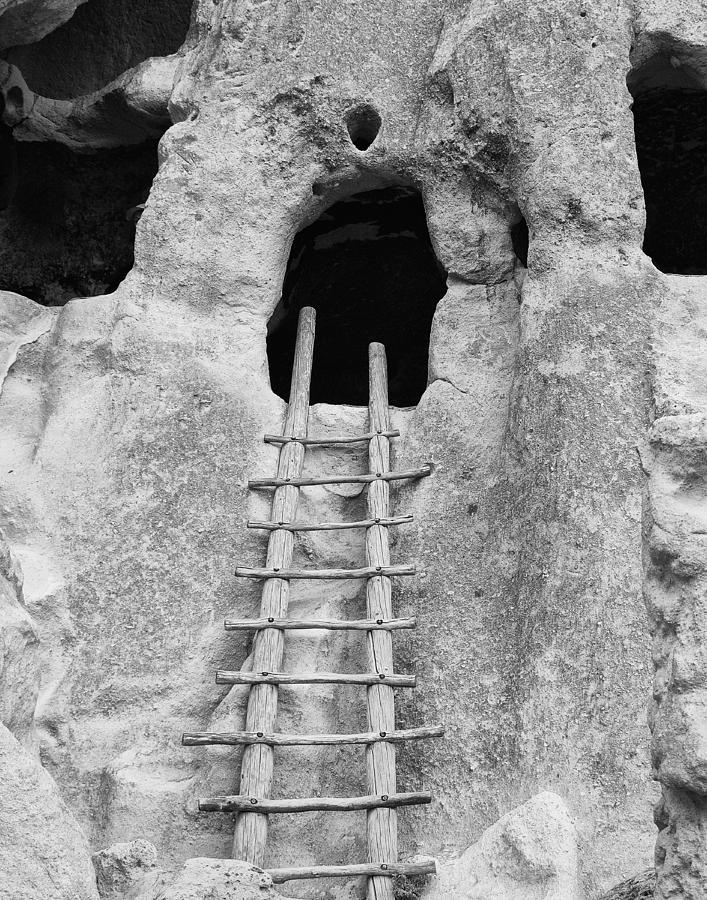 Bandelier Ancient Cliff Dwellings in New Mexico by Keith Dotson