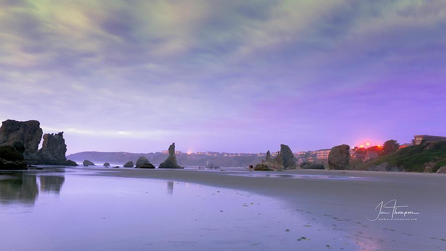 Bandon Beach Photograph - Bandon Beach, Oregon by Jim Thompson