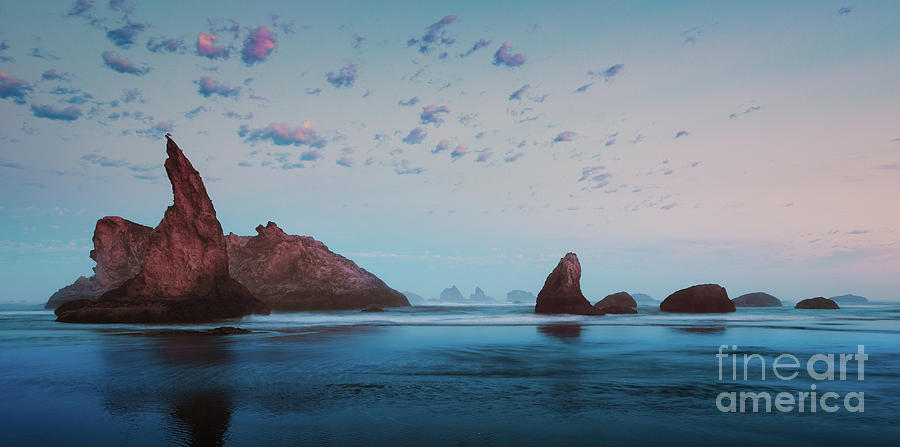 BANDON BLUE SUNSET by Doug Sturgess