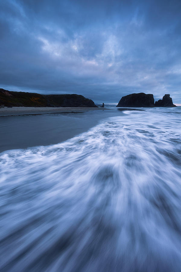 Bandon Blues With Moon by Darren White