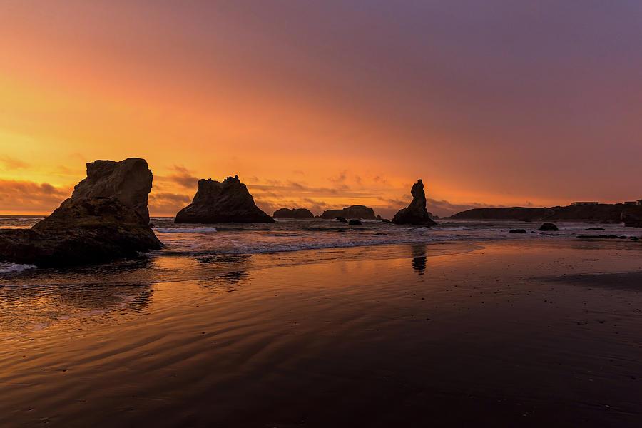 Bandon, Oregon Sunset by Johanna Froese