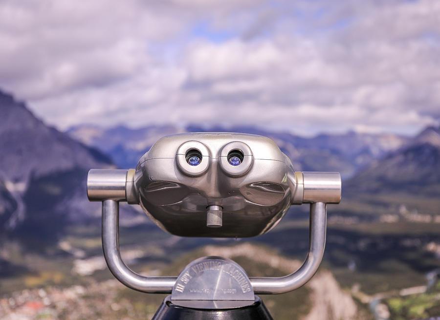 Banff Gondola Observation Viewer by Dan Sproul