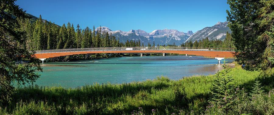 Banff Pedestrian Bridge by Andy Konieczny