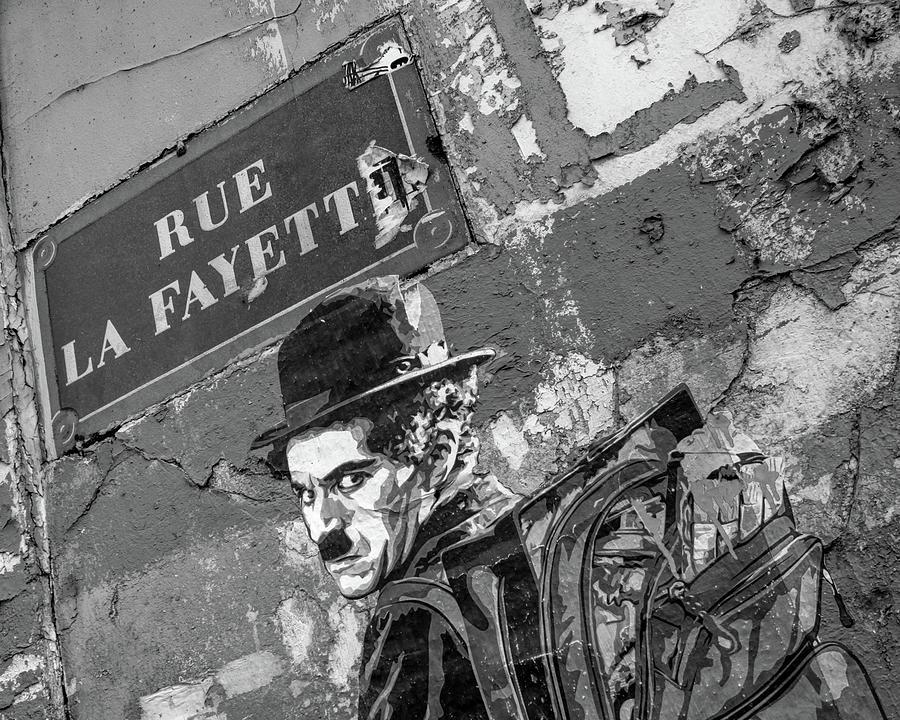 Banksy Rue La Lafayette by Gigi Ebert
