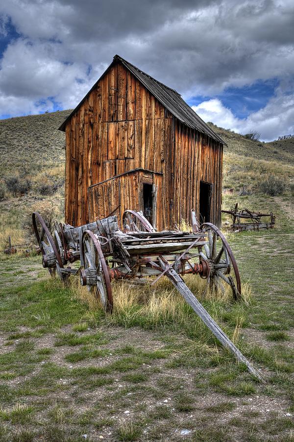 Bannack Wagon  by Michael Morse