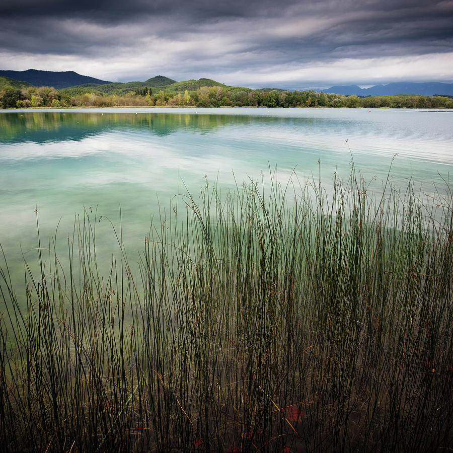 Banyoles And Lake Banyoles In Catalonia Photograph by Marc Princivalle For Imagesconcept.com