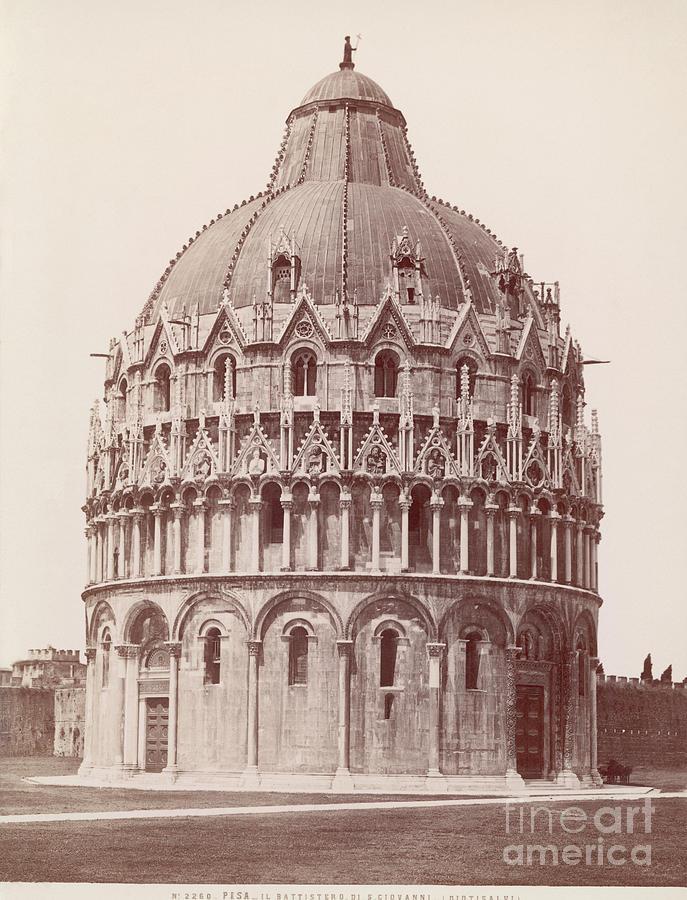 Baptistery Of Pisa Photograph by Bettmann