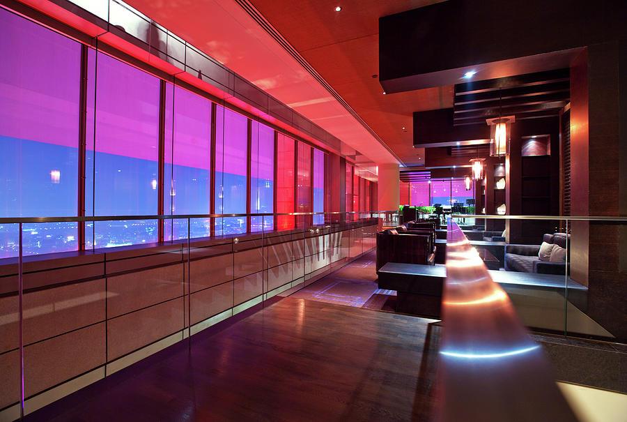 Bar Lounge Photograph by Nikada