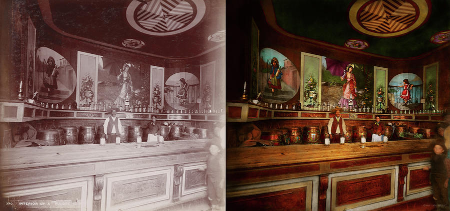 Bar - The drink of the gods 1898 - Side by Side by Mike Savad