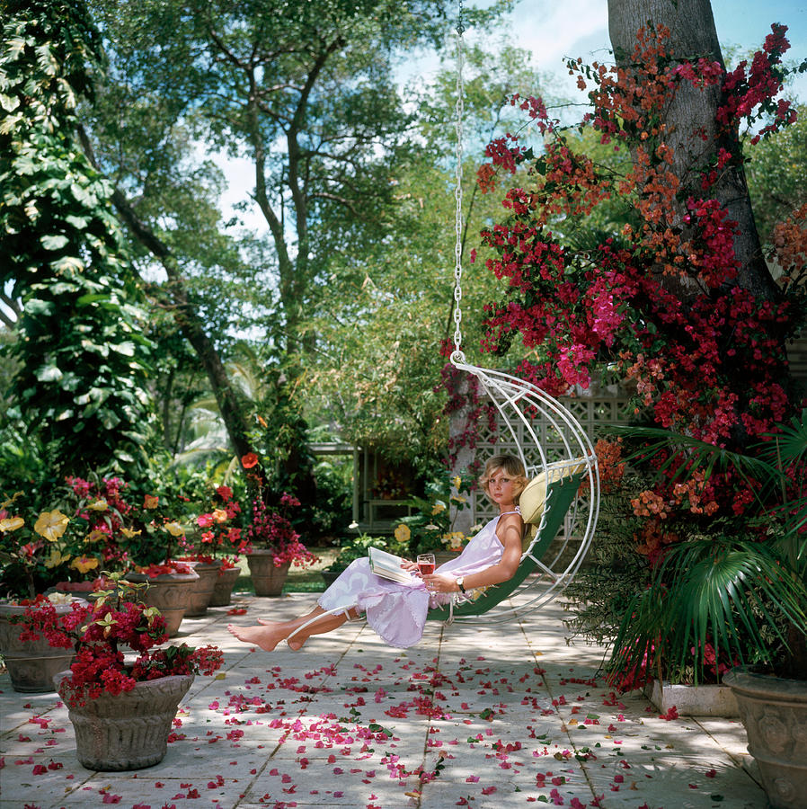 Barbados Bliss Photograph by Slim Aarons