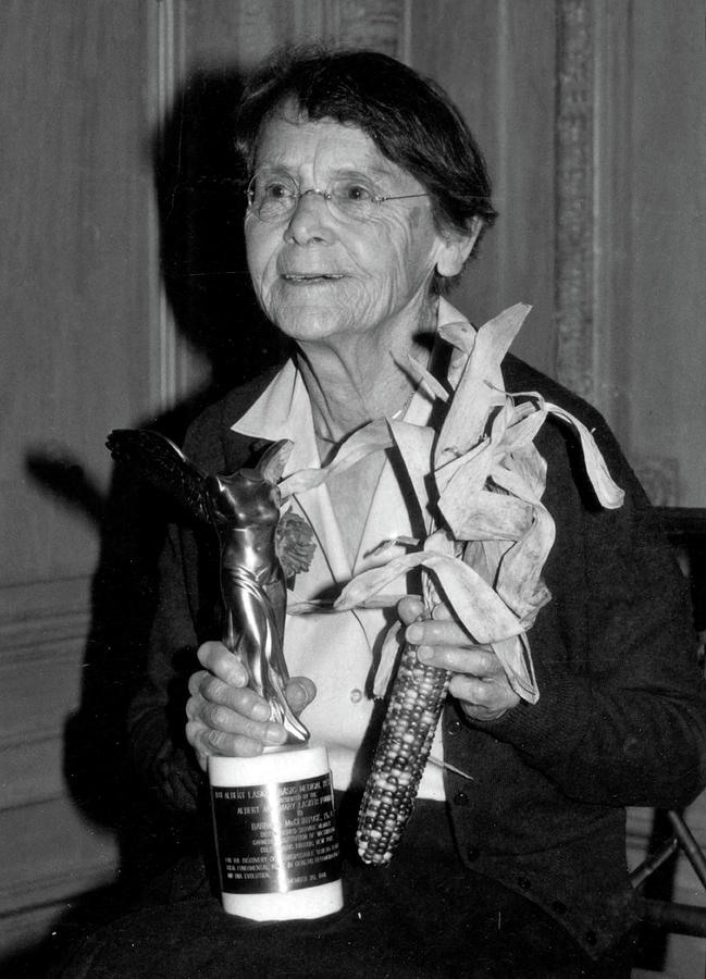 Barbara Mcclintock, American by SCIENCE SOURCE