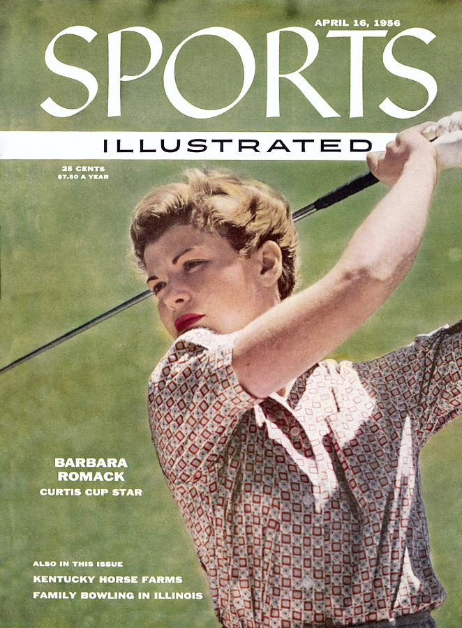 Barbara Romack, Womens Amateur Golf Champion Sports Illustrated Cover Photograph by Sports Illustrated