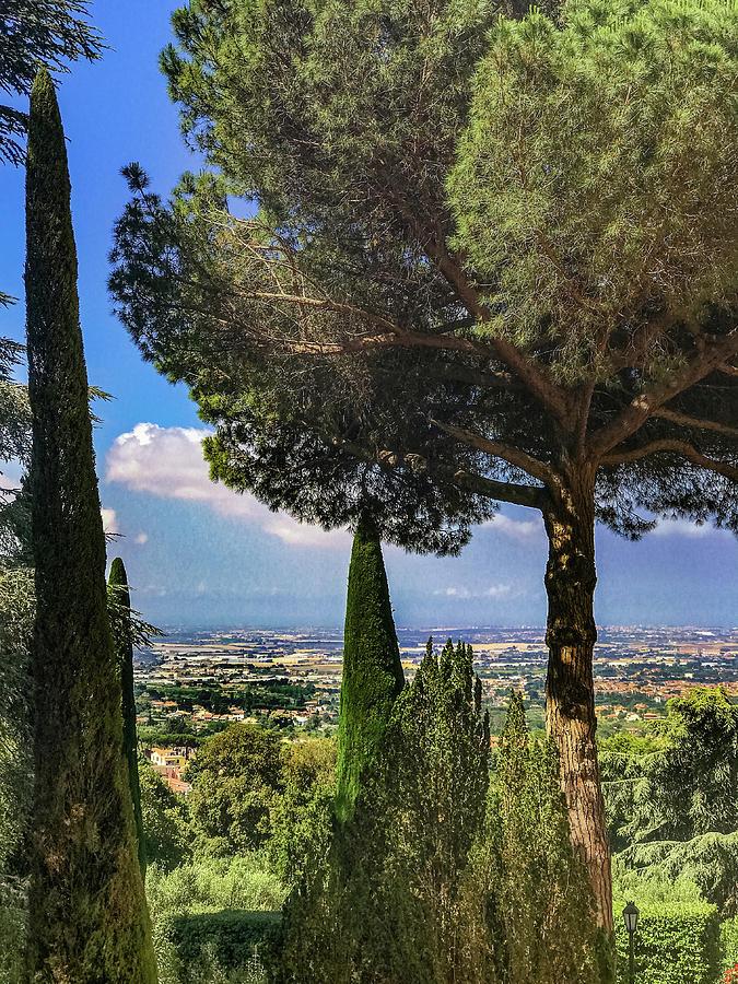 Castel Gandolfo Photograph - Barberini View by Joseph Yarbrough