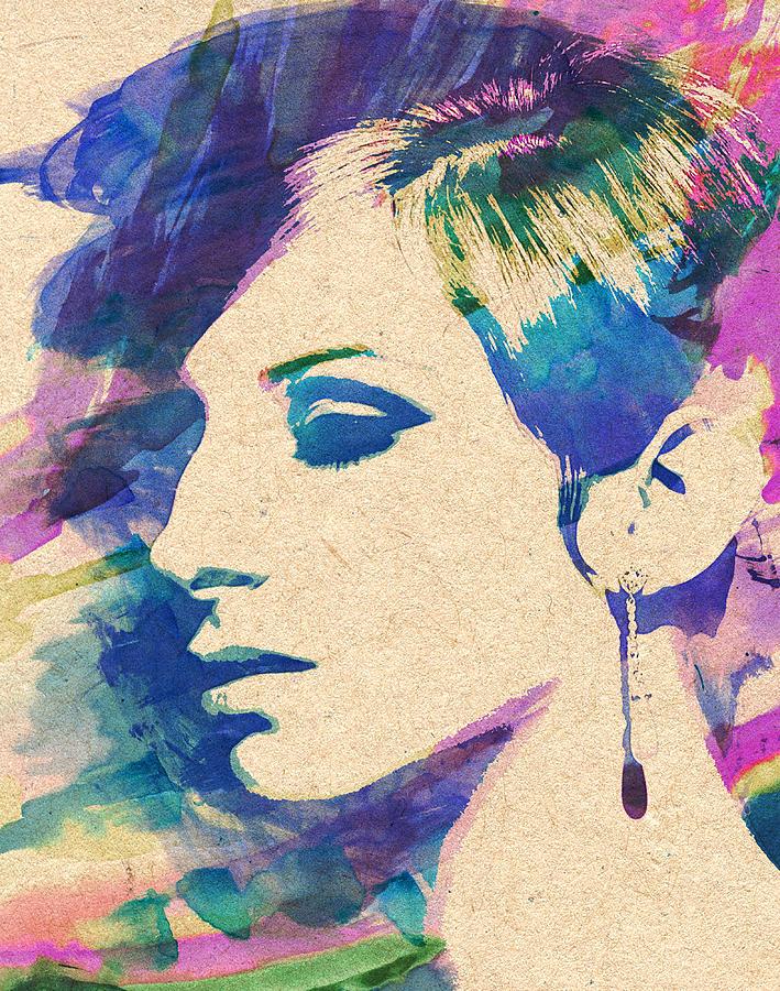 Barbra Streisand by Zapista Zapista