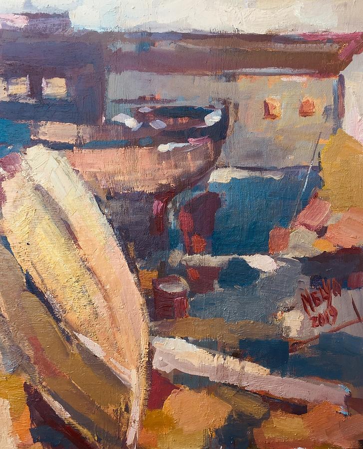 Barcas viejas  by Nelya Pinchuk